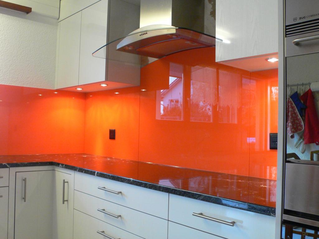 Glas in Küche und Bad – Glas Fäh AG