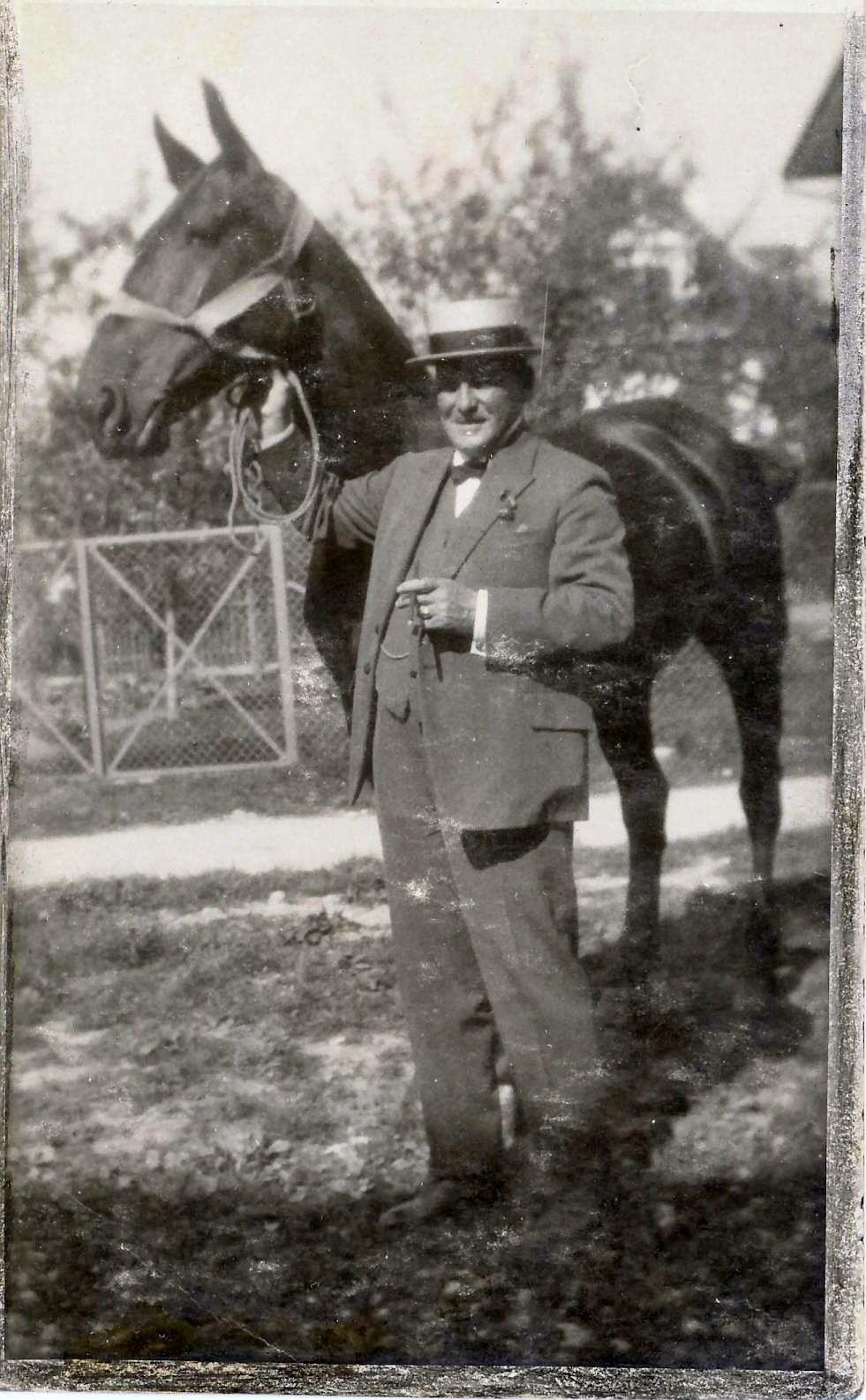 Firmengründer Oscar Fäh